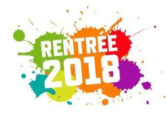 Rentrée 2018-2019